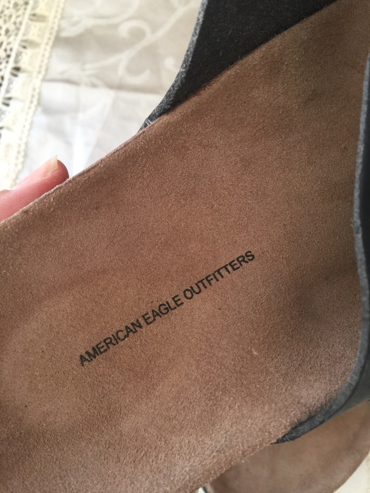 American Eagle slippers