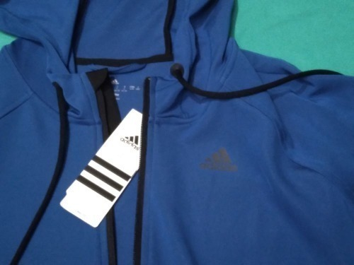 ADIDAS SWEAT A CAPUCHE TAILLE 44 NEUF ET IMPORTE