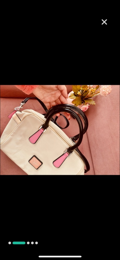 Sac a main leandra box satchel guess