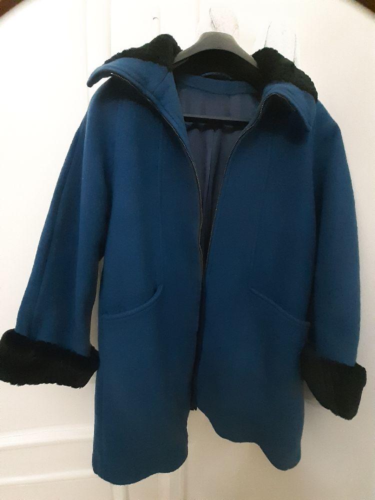 Manteau cachemire très chic