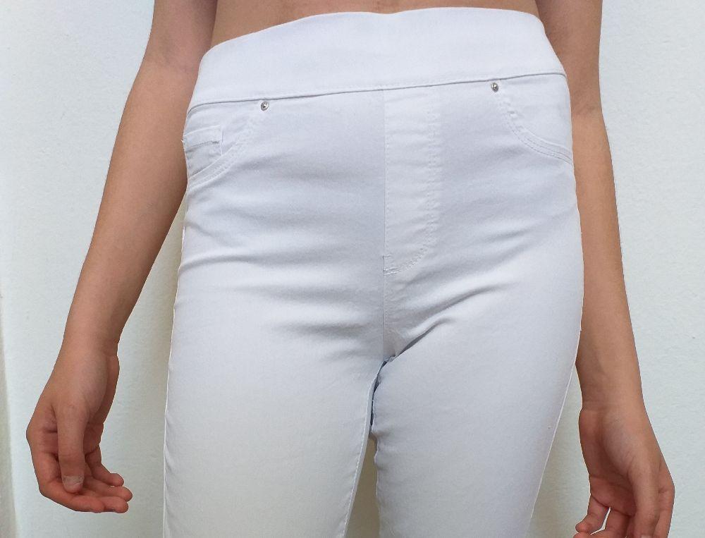 Legging blanc taille haute à bas prix