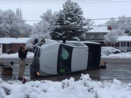 Redwood Road Crash