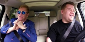 Elton John carpool karaoke