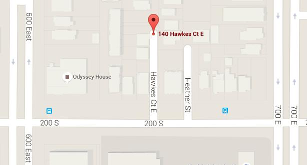 Map Hawke Court