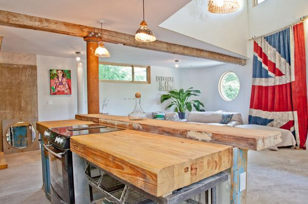 natural-wood-counter-top-design