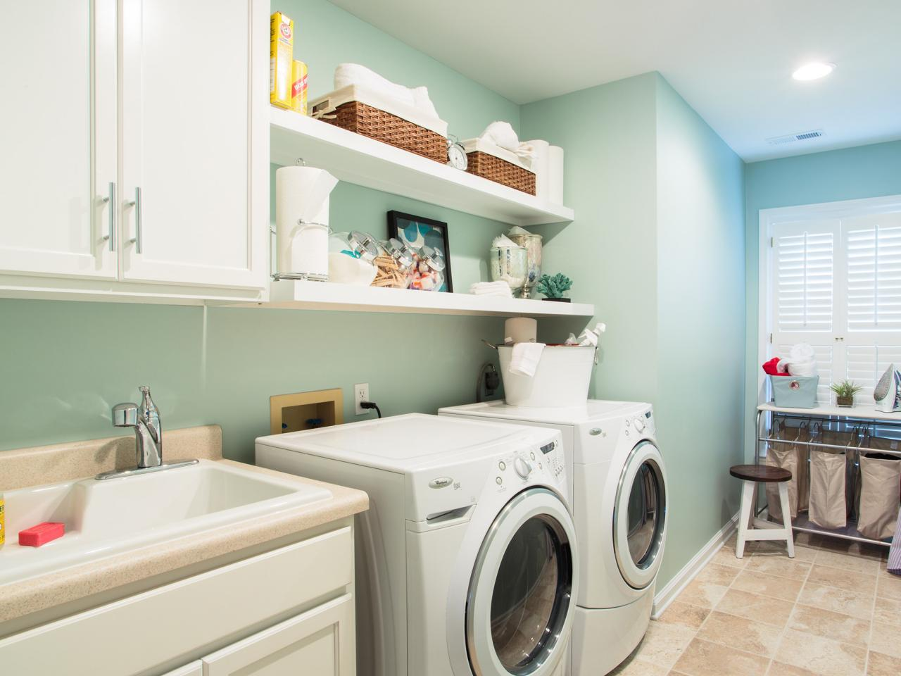 get laundry room clutter under control | gephardt daily