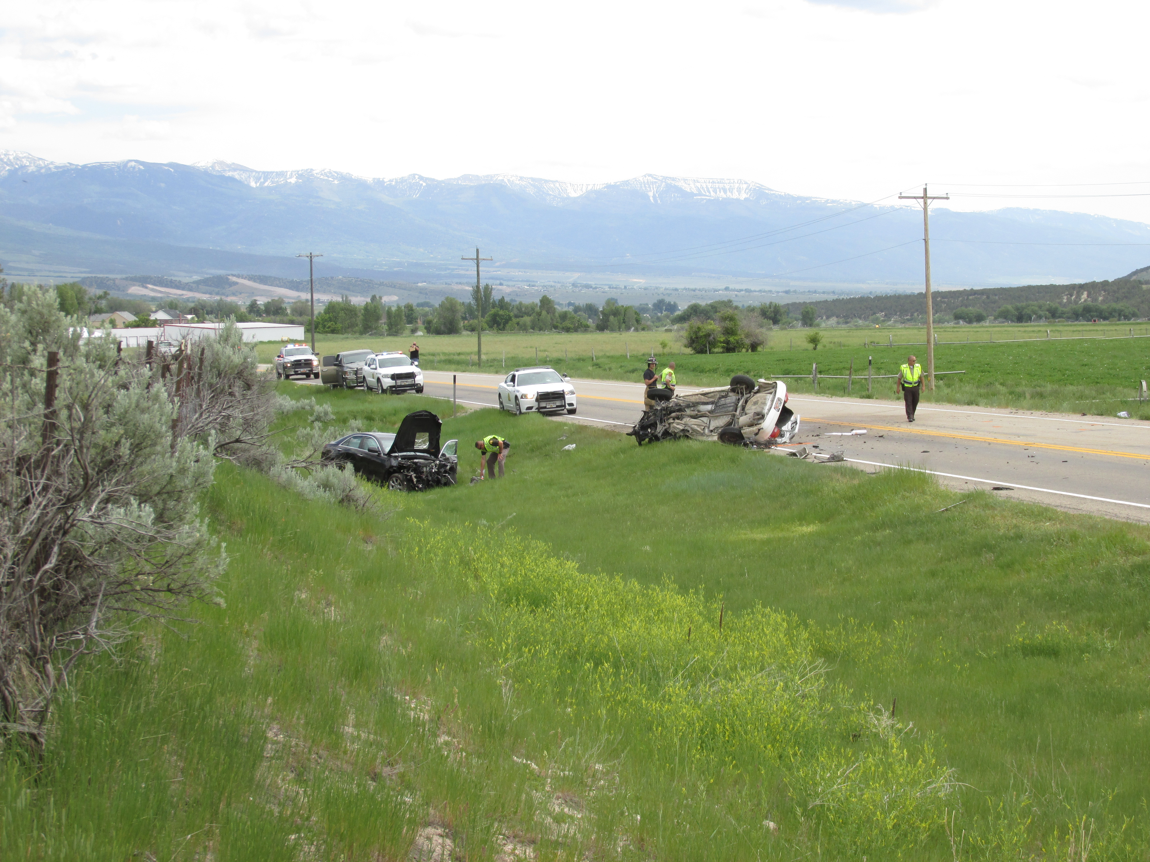 One Dead After Accident North Of Fairview | Gephardt Daily