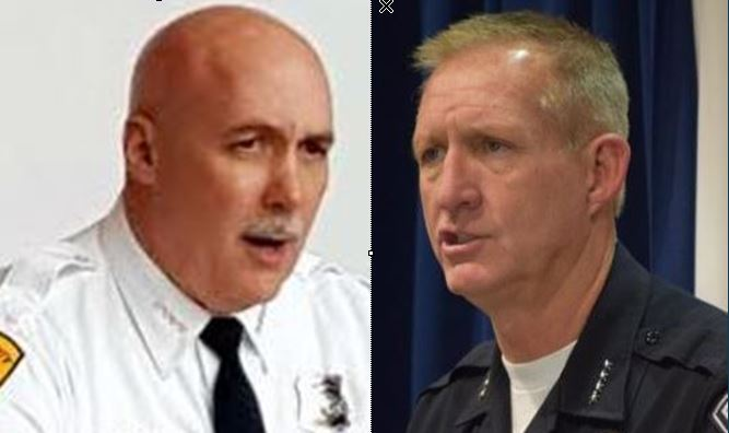 NEW: Salt Lake County Sheriff Winder, SLCPD Chief Brown