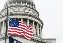 Utah Capitol flag