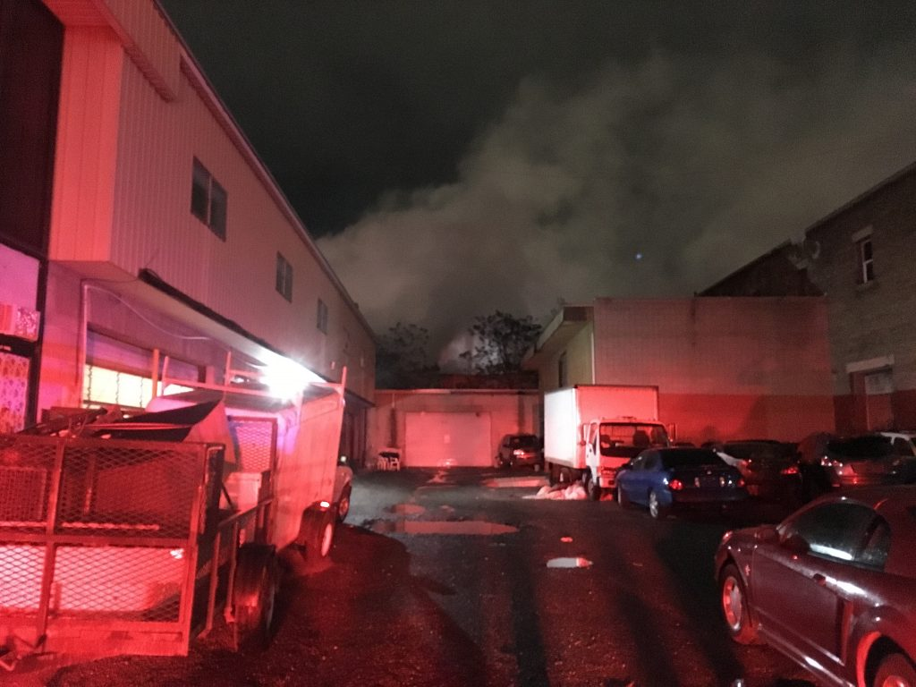 Update: Salt Lake City warehouse fire human caused; did $50k in damage | Gephardt Daily