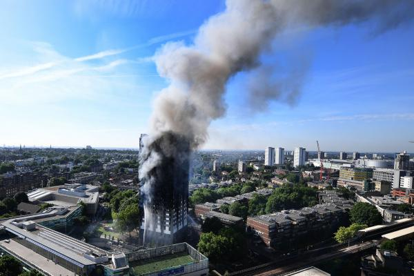 At Least 6 Dead In Fire London High Rise Apartment Building