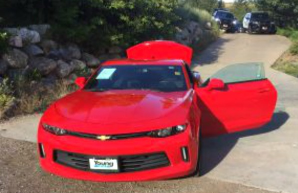 Young Chevrolet Layton Utah >> Police: Woman who stole dealer's Camaro in custody after ...