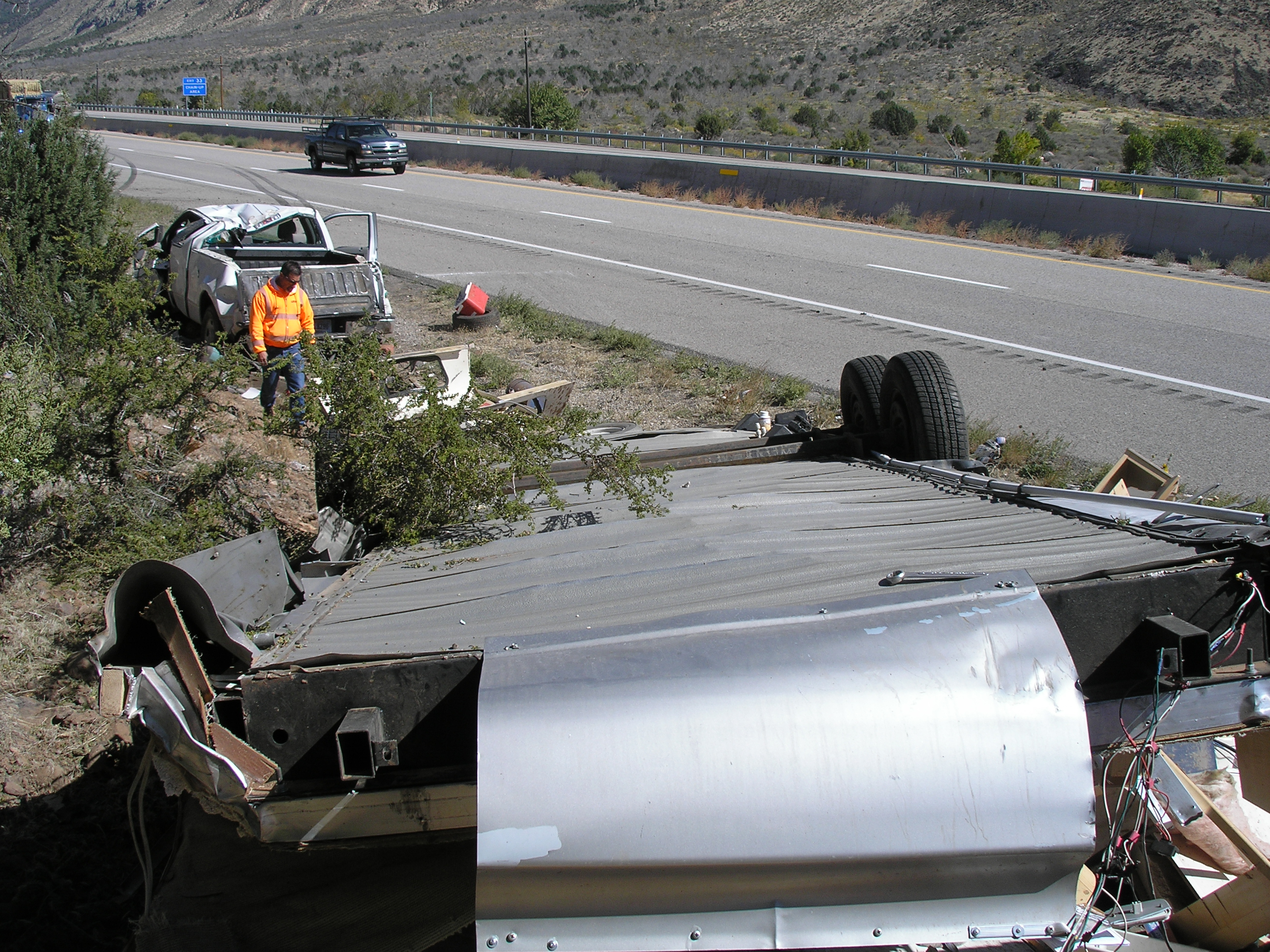 Man killed in rollover crash in Washington County   Gephardt Daily