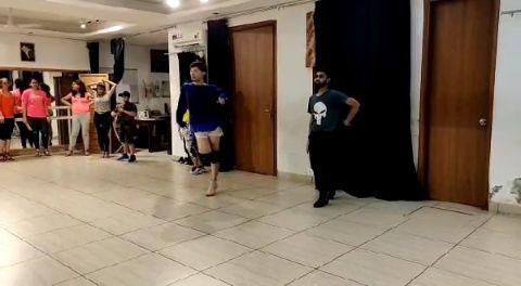 Heel Dance Choreography