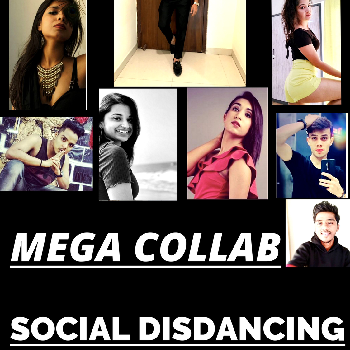 SOCIAL DISDANCING  dance video ft. Over 13 artists.