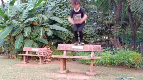 I am a disco dancer #jumps#running#conditioning