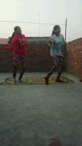baapa moreya   self learnt steps   me and my sista   plz like if u love dance