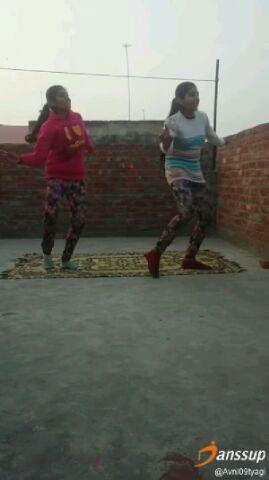 bappa moreya self learned dance