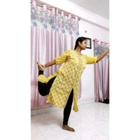 short classical choreography on Anjayam mahaeeram sloka.