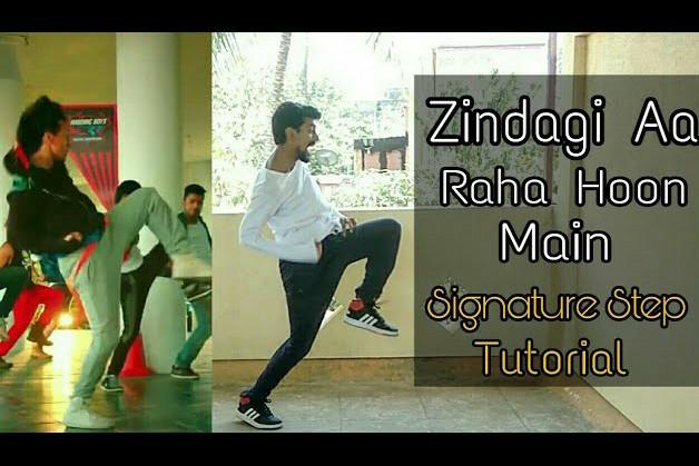 Zindagi Aa Raha Hoon Main Signature Step   Tiger Shroff