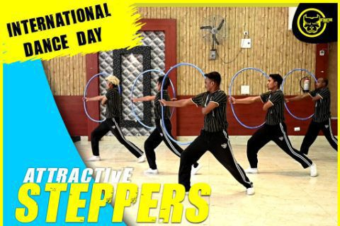attractive steppers international dance day