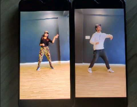 2 MOBILE N CAP PROP CREATIVITY DANCE VIDEO