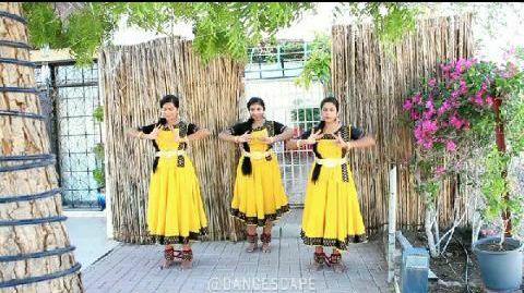 Lambda de manmohini | Classical dance | Dancescape