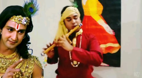 8D Krishna Flute Music - Dance cover By Ankit Verma