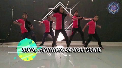 Ankhiyon se Goli mare - by UV & Dance Company kid's Batch || UVandDanceCompanyOf