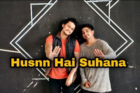 husnn Hai Suhana - coolie no.1