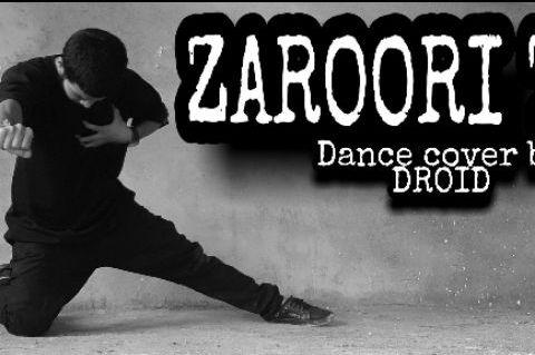 LYRICAL DANCE ON ZAROORI THA|UNPLUGGED BY VISHAL MISHRA|DANCE COVER BY DROID|