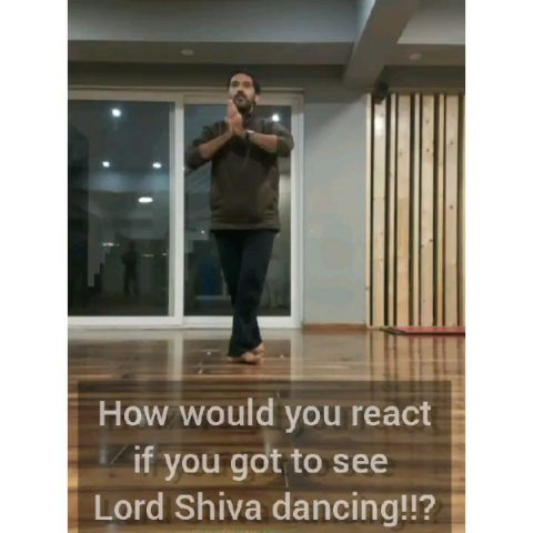 How would you react if you got to see Lord of Dance, Lord Shiva dancing?