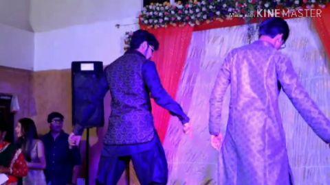 Badtameez Dil & Malhari | Dance with sibling | Energetic Performance