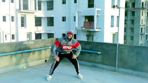 Urban dance choreography