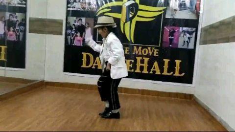 Tribute to legend MJ because I am a little MJ Aditi