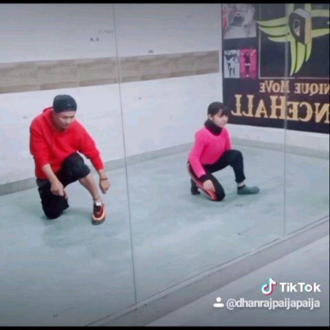 D'Unique Move DanceHaLL Studio_ Student Bhumi Rawat & Me Coreo_By DhanRaj Delhi
