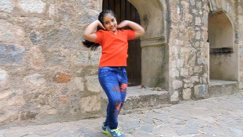 "52 Gaj ka Daman ""song""   outdoor video shoot   free style dance video"