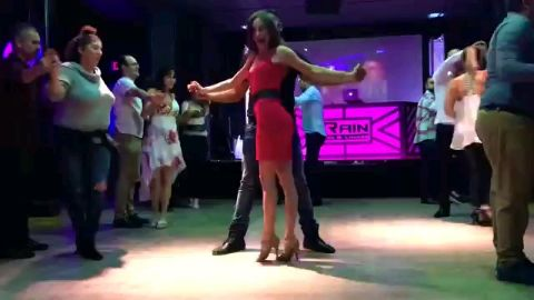 Salsa party.