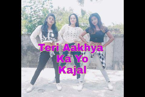 Teri Aakhya Ka Yo Kajal | Priyanka Rokade | Choreography | Dance Cover |
