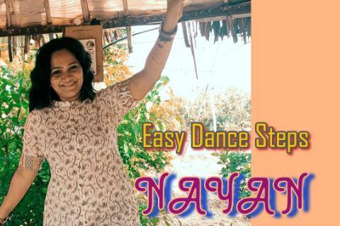 Nayan Song Dance | Priyanka Rokade Choreography| Easy Dance Steps |