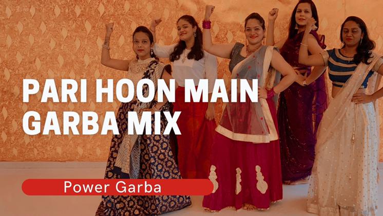 Pari Hoon Main Remix | Power Garba Choreography | Priyanka Rokade