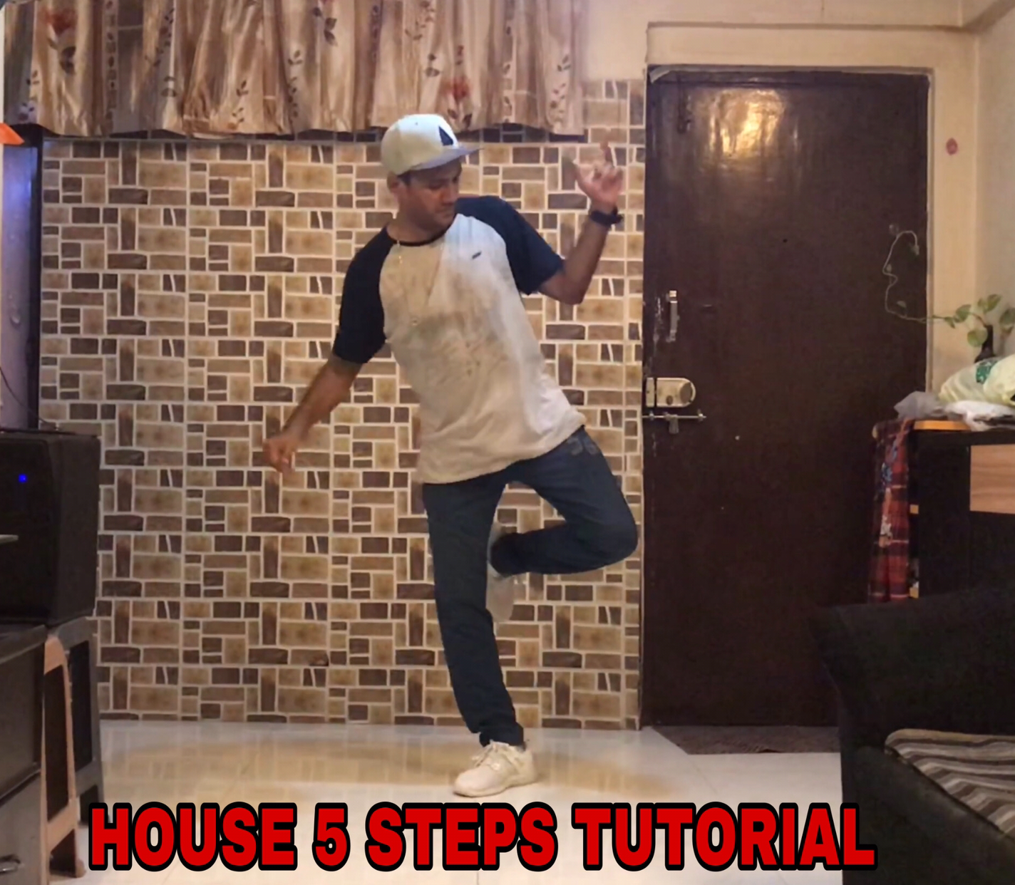House Dance Tutorial / 5 Steps / Rohan Rokade