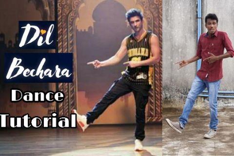 Dil Bechara Dance Step Tutorial | Sushant Singh Rajput | Dil Bechara