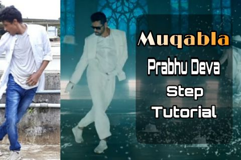Muqabla Song Prabhu Deva Steps Tutorial | Street Dancer 3D