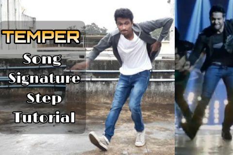 Temper Song Signature Step Tutorial | Jr.NTR
