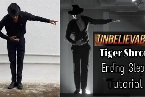 Unbelievable - Tiger Shroff Ending Steps 🔥
