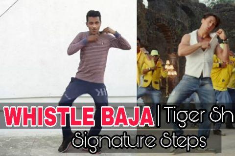 Whistle Baja Signature Steps   Tiger Shroff