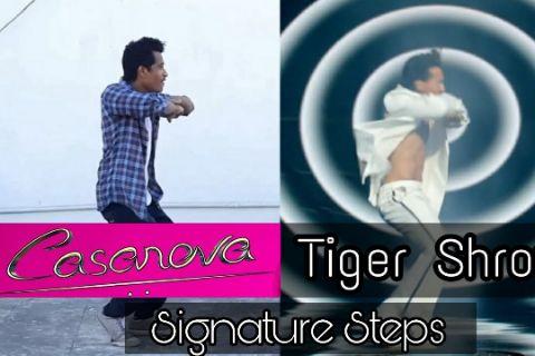 Casanova Signature Steps 🔥|Tiger Shroff