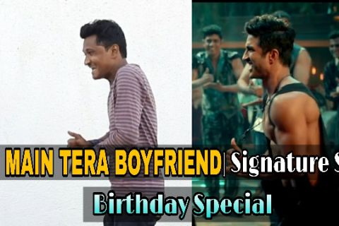 Main Tera Boyfriend Signature Steps 🔥🔥 | Sushant Singh Rajput