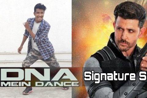 DNA Mein Dance | Signature Steps | Hrithik Roshan